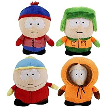 SOUTH PARK - Set of 4 Plush toys