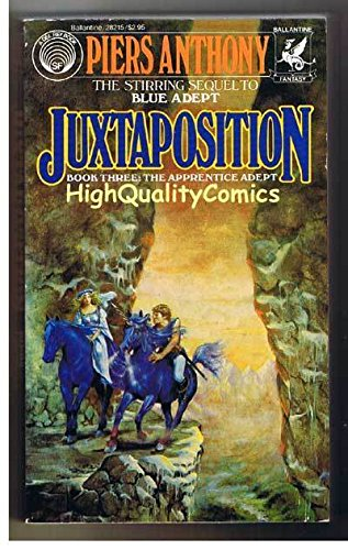 JUXTAPOSITION pb, VG, Piers Anthony, Apprentice Adept, 1983, more pb in - Pier Store