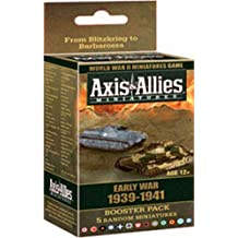 Wizards of the Coast Axis and Allies Miniatures Early War 1939 - 1941 Booster Board Game Expansion