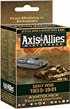 Axis and Allies Miniatures Early War 1939 - 1941 Booster Board Game Expansion