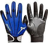 Mizuno Youth Vintage Pro Batting Gloves, Royal, Medium