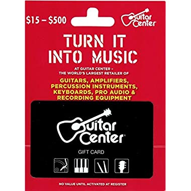 Guitar Center Gift Card $100