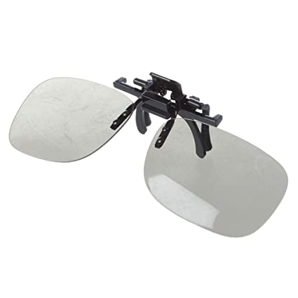 TOOGOO(R) 1 x Gafas para 3D Clip en CINE Y 3D EN LA