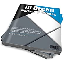 10 Green Marketing PLR Articles: How to Promote Your Green Marketing Strategy on Social Media
