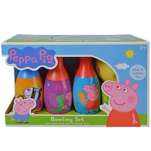 Peppa Pig Themed Kids Bowling Play Set