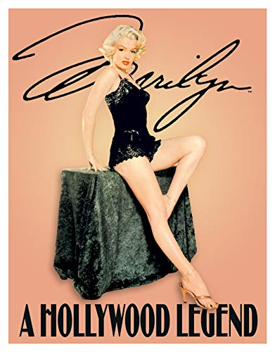 (Desperate Enterprises Marilyn Monroe Hollywood Legend Tin Sign, 11