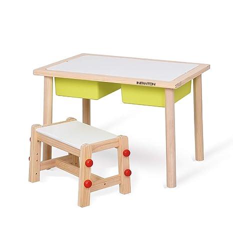 Amazon.com: Juego de mesa y sillas Xing Hua Shop, mesa de ...