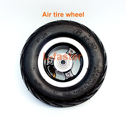 6X2 Inflation Tire Wheel Use 6