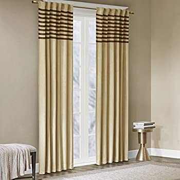 Amazon Com Beige Curtains For Living Room Casual Rod