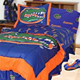NCAA Florida Gators Collegiate 7pc Blue Queen Bedding Set
