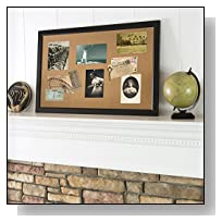 The Board Dudes Black Framed Cork Board 35