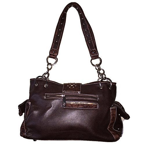 in Colors 3 Wings Angle Buckle Studded Coffee Shoulder Purse Rhinestone Handbag x6Hf16q