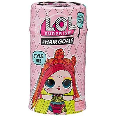 L.O.L. Surprise 557067 Hairgoals Makeover Series 2 with 15 Surprises, Multicolor: Toys & Games
