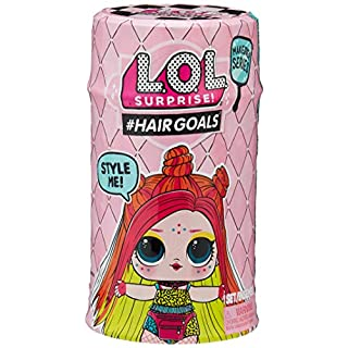 L.O.L. Surprise 557067 Hairgoals Makeover Series 2 with 15 Surprises, Multicolor