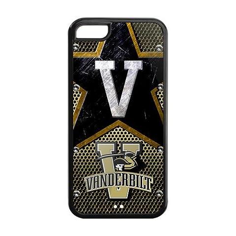 Personalized Design Vanderbilt Commodores Iphone 5C Silicone Back Case (One Direction Ipod 5 Custom Case)
