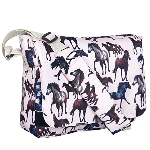 Wildkin 13 x 10 Inch Messenger Bag, Horse Dreams