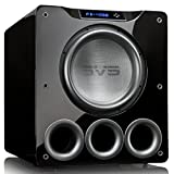 SVS PB-4000 13.5'' 1200W Ported Box Subwoofer (Single, Piano Gloss Black)