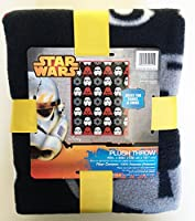 Star Wars Plush Throw 40 X 50