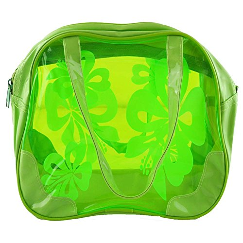 Transparent Wasserdicht Süßigkeit-Farben-Strandtasche / Wäsche-Beutel (Grün) ydXuakWgm