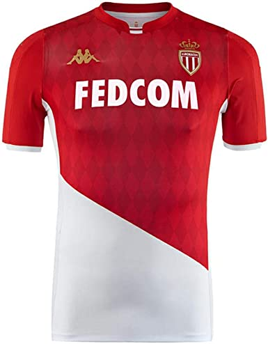 AS Monaco Home Soccer Jersey 2018//19