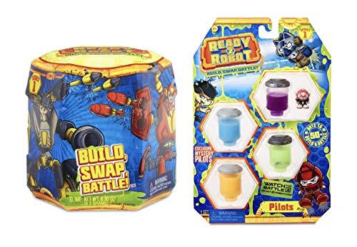 Ready2robot Series 1 Pop Bot with Bonus Pilots Pack