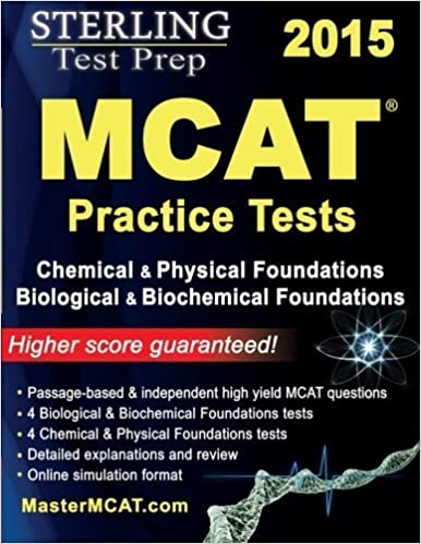 Sterling Test Prep MCAT Practice Tests: Chemical & Physical