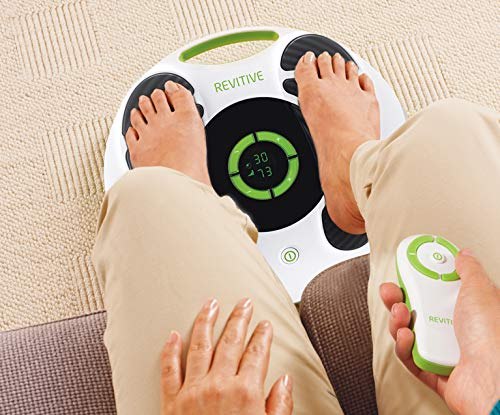 REVITIVE Medic Circulation Booster - Award Winning, Clinically Proven and Patented Technology Cleared by The FDA - Gets You Moving Again by Relieving Leg Aches and Pains