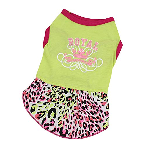 Hpapadks Pet Sexy Leopard Skirt,Dog Cat Sport Dress Skirt Pet Puppy Dog Princess Costume Apparel Clothes Girl Dog -