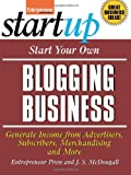 img - for Start Your Own Blogging Business (Startup) book / textbook / text book