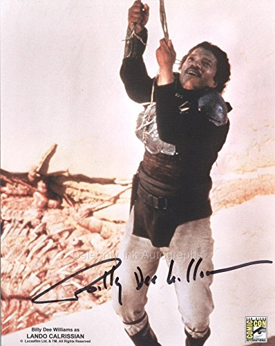 BILLY DEE WILLIAMS as Lando Calrissian – Star Wars GENUINE AUTOGRAPH