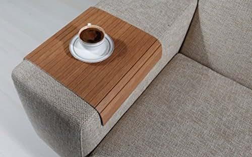 Amazon sofa tray table bahama teak arm
