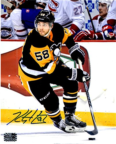 Kris Letang autographed signed Pittsburgh Penguins 8x10 - Shipping Return Paypal