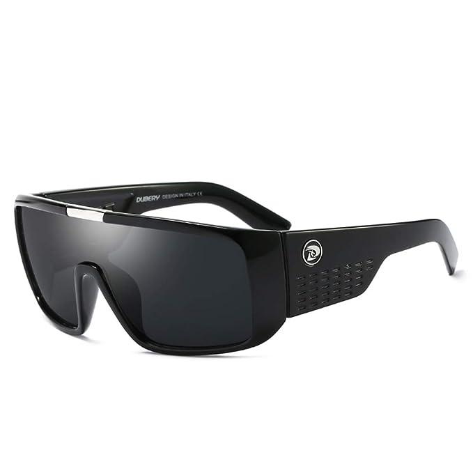 Amazon.com: DUBERY Gafas de sol de gran tamaño para hombres ...