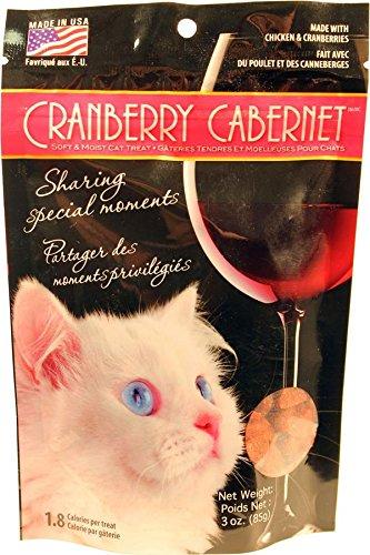 Omega Paws Cranberry Cabernet Cat Treats, Small