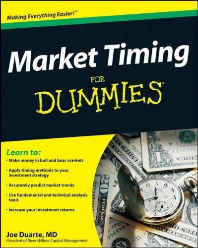 Market Timing For Dummies: Joe Duarte: 9780470389751: Books