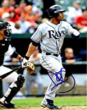 Autographed Carl Crawford 8x10 Tampa Bay Rays Photo