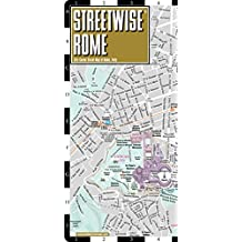 Rome Laminated City Centr Street map Streetwise