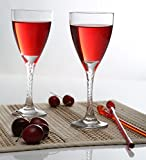 Pasabahce Twist Red Wine Glass, 205 ml,Set of 6