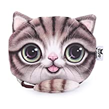 BeautyGal Women's Cartoon Cat Zipper Ladies Workmanship Change Purse