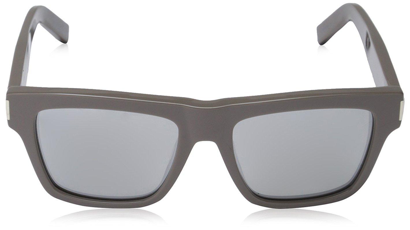 Yves Saint Laurent Unisex Sonnenbrille Bold 5, Grau-Grey (Matt Grey), onesize