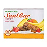SunBar® Herbal Food Bar, Fruit Flavor, 10 Pack