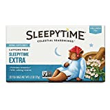 Cheap Celestial Seasonings Sleepytime Extra Wellness Tea Herbal Supplement, 20 Count (Pack of 4)