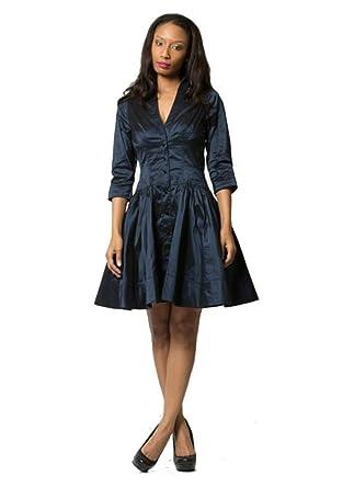 bce44f001f5cd Byron Lars Beauty Mark -Flare Dress at Amazon Women's Clothing store: