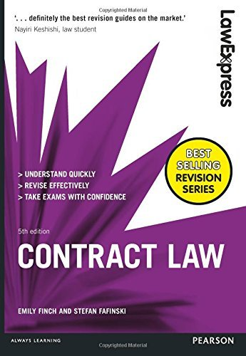 Law Express: Contract Law by Emily Finch (2016-08-01) (Express Law Contract Law)