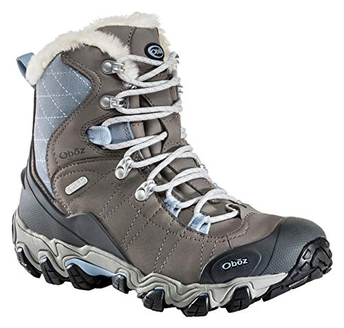 "Oboz Bridger 7"" Insulated B-Dry Hiking Boot - Women's Gray/Sage 11"