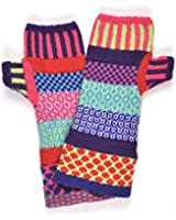 Solmate Socks - Mismatched Fingerless Mittens/Gloves for Women or for Men, Made in USA