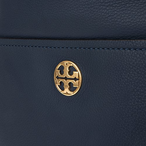 Chelsea Leather Royal Bag Navy Chain Tory Hobo Burch 5qH4BtWcp