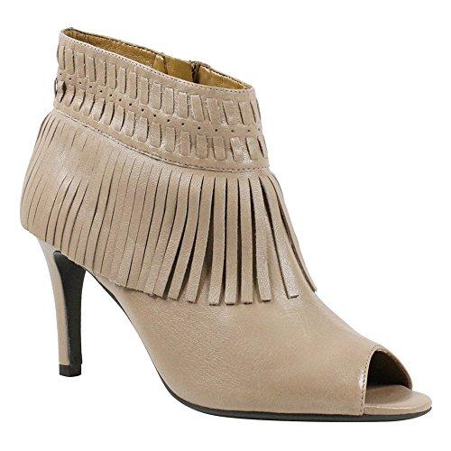 Nappa Open Leather Ankle Toe Saharra Boot Women's Stiletto Nude J Renee AwzqIIT