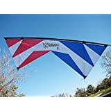 Revolution 1.5 SLE Standard Red White Blue Quad Line Stunt Kite Made in the USA