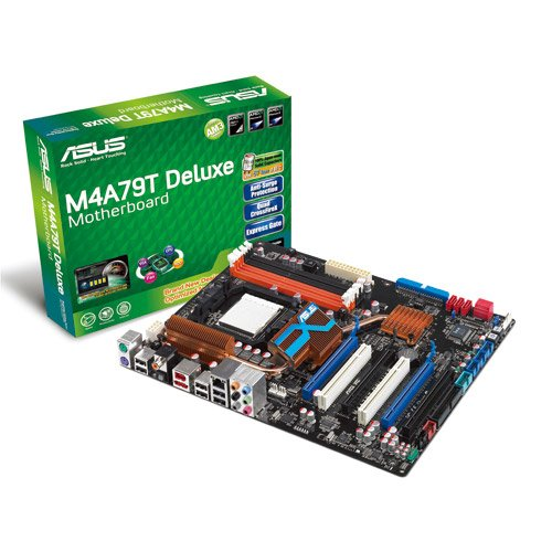 790fx Amd Atx Motherboard - Asus M4A79T DELUXE Socket AM3/ AMD 790FX/ Quad CrossFireX/ A&GbE/ ATX Motherboard